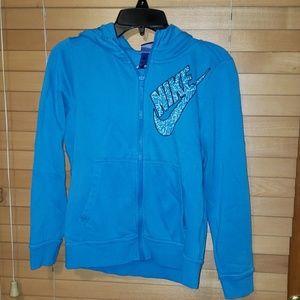 Nike zip hoodie